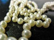 "93 ROUND PEARLS, 20"" STRAND OF VINTAGE GRADUATED PEARLS. THE STRAND IS BROKEN AN"